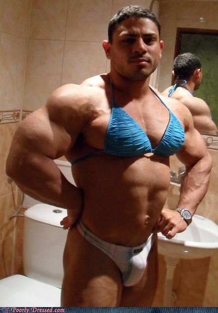 bikin buff cross dressing swim suit - 4690391040