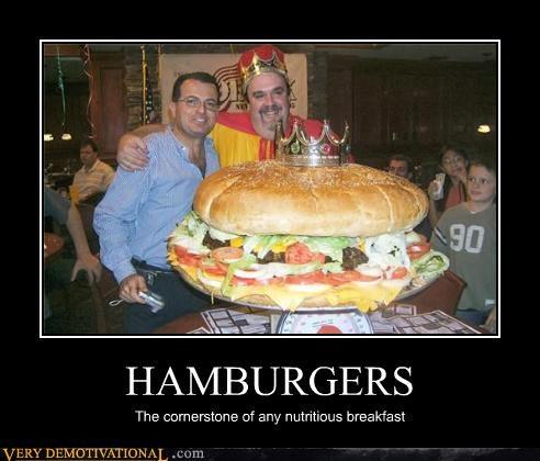 breakfast burger healthy hilarious huge - 4690634752