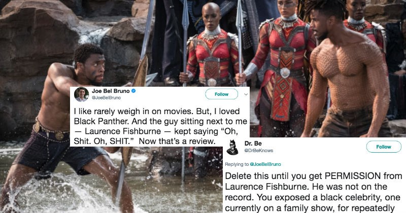 Black feminist gets destroyed after complaining about film critic's tweet about Black Panther.