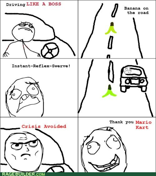 games Mario Kart Rage Comics teaching things - 4690943744