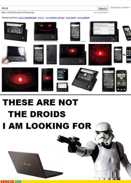 Not My Droids