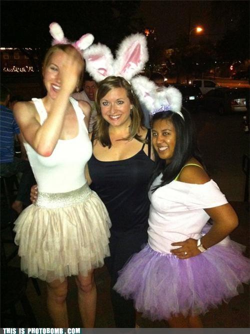 bunny costume dressed up - 4691766528