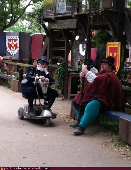 old guy,rascal,renaissance fair,wtf