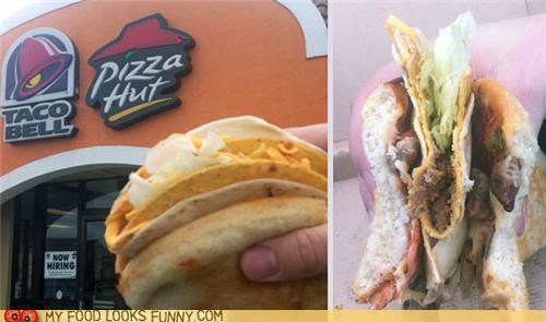 combo fast food pizza pizza hut taco tco bell - 4692121856