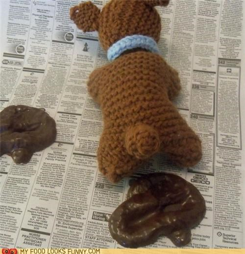 chocolate crap gross pile poo teddy bear