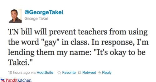 gay rights,george takei,political pictures