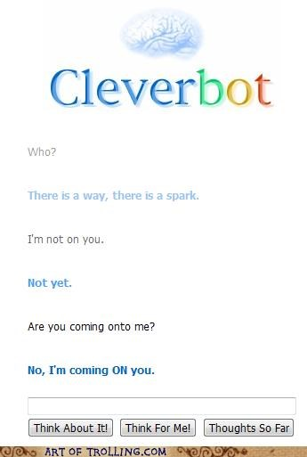 Cleverbot come on innuendo naughty - 4692736768