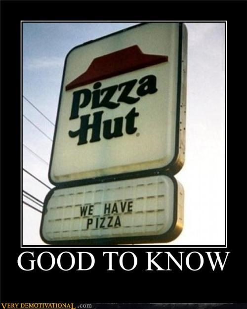pizza pizza hut sign wtf