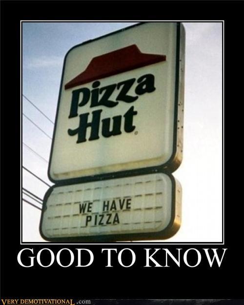 pizza pizza hut sign wtf - 4692980992