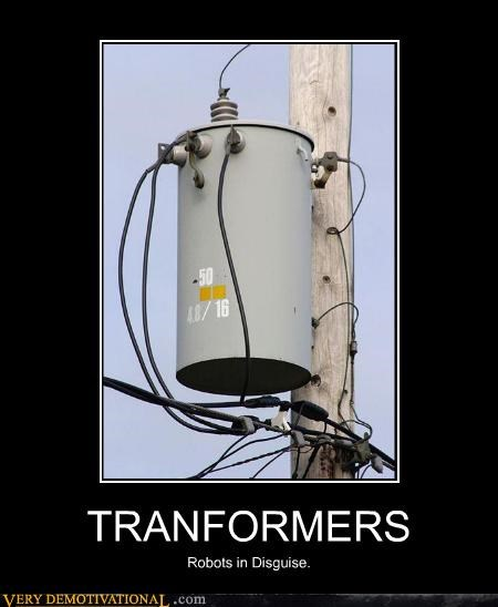 TRANFORMERS Robots in Disguise.