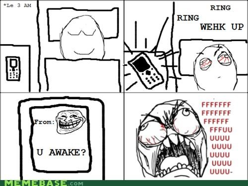 phones,Rage Comics,text,u awake