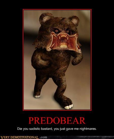 hilarious pedobear Predator sadistic