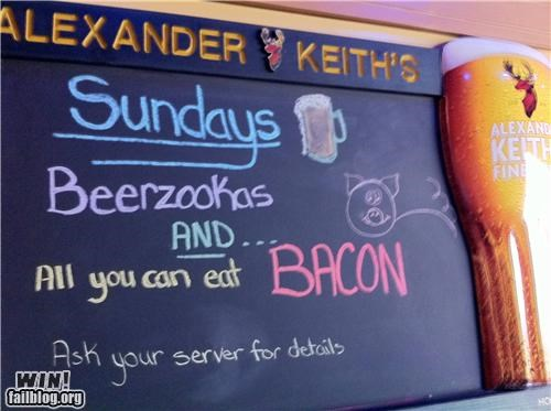 alcohol awesome at work bar combination delicious bacon - 4693656576