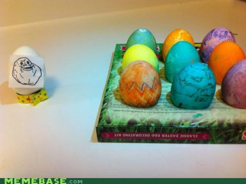 easter,egg,forever alone