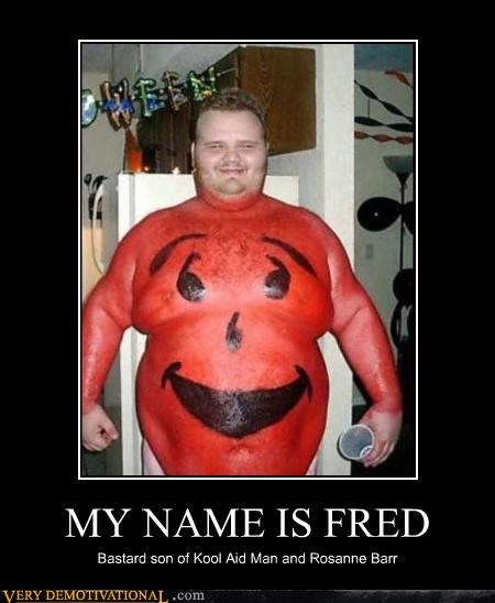 fat guy hilarious kool-aid man rosanne bar - 4694012416