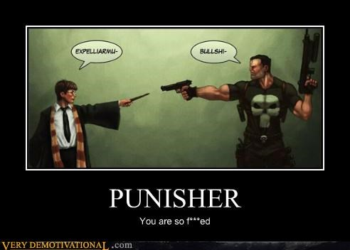 comics,Harry Potter,hilarious,punisher
