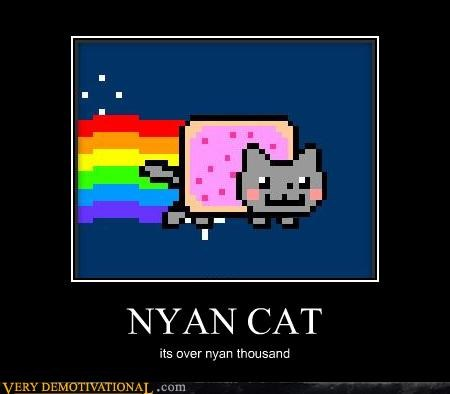 Memes,nine thousand,Nyan Cat