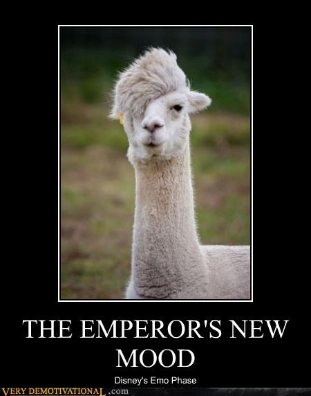 THE EMPEROR'S NEW MOOD Disney's Emo Phase