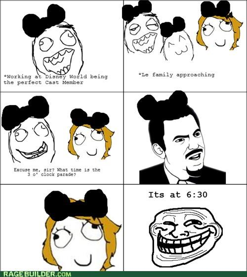 3 disney family parade Rage Comics troll - 4694811392