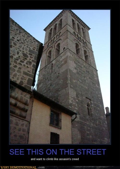 assassins creed,IRL,Pure Awesome,tower,video games