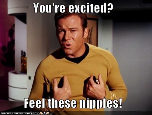 actor celeb funny sci fi Shatnerday Star Trek William Shatner - 4694881792