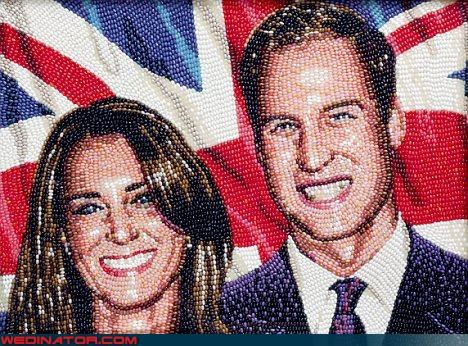 england,jelly beans,kate middleton,portrait,prince william,royal wedding