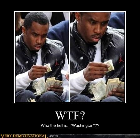 hilarious P Diddy small bills wtf