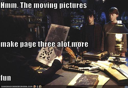 actor celeb Daniel Radcliffe funny Harry Potter rupert grint sci fi - 4695359744