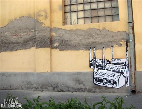 art banksy clever graffiti hacked - 4695585280