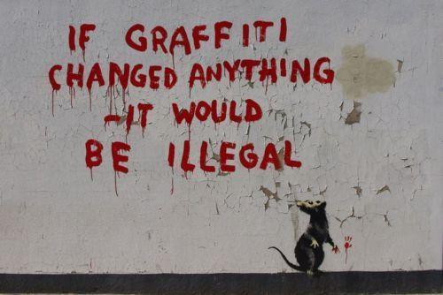 banksy,Emma Goldman,Fitzrovia,Street Art