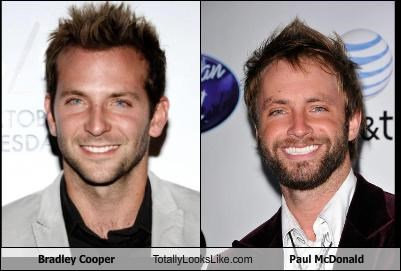 actors American Idol bradley cooper paul mcdonald singers