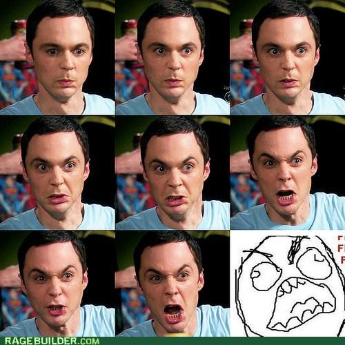 big bang Rage Comics sheldon television theory - 4695620864