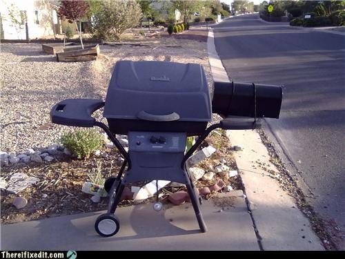 barbecue dual use home repair mailbox - 4695744256