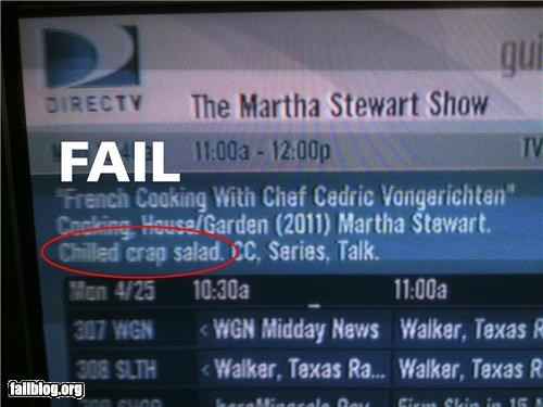 cooking description failboat food screencap spelling