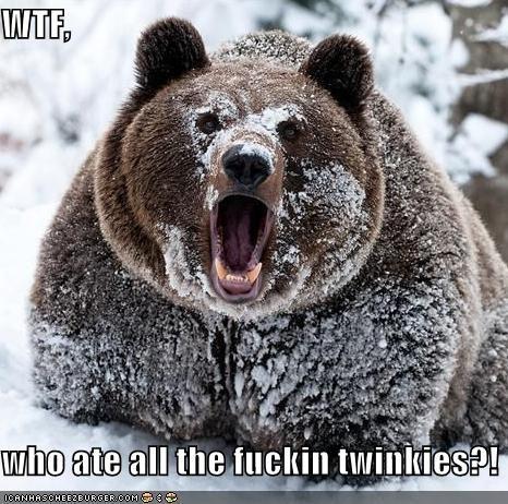 WTF,  who ate all the fuckin twinkies?!