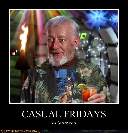 casual FRIDAY hilarious obi wan star wars - 4695969536