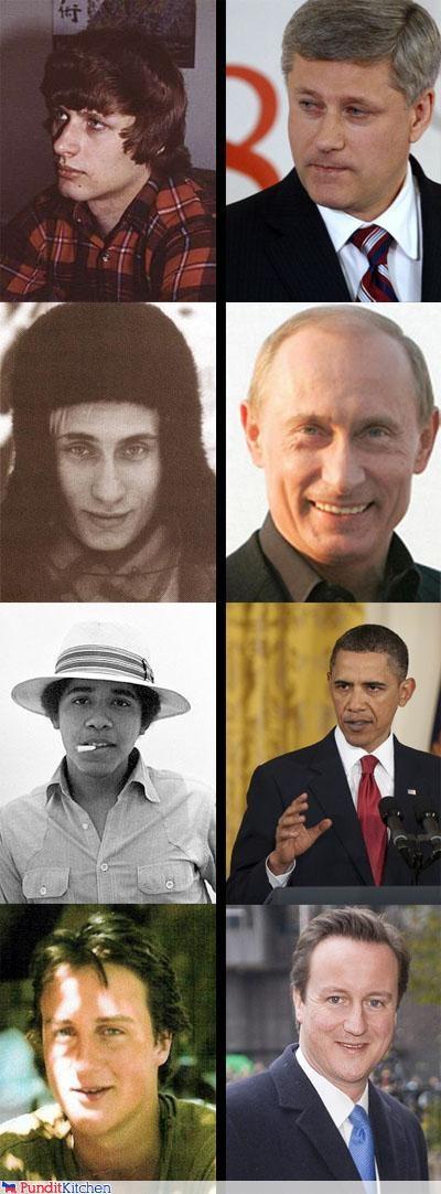 barack obama,david cameron,political pictures,stephen harper,Vladimir Putin