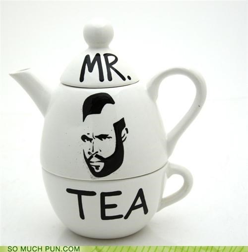 A Team better buy homophone literalism mr t tea tea set teapot - 4696383744
