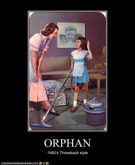 ORPHAN 1950's Throwback style