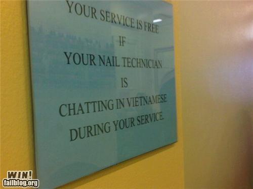 nails sign - 4696520960