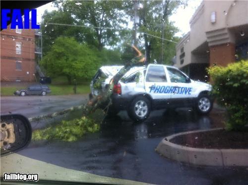 car crash failboat g rated insurance irony - 4696524544