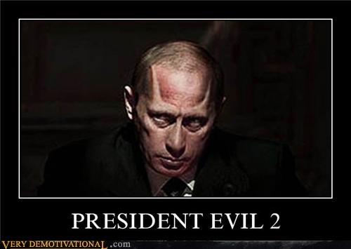 evil president Putin umbrella corp zombie - 4696742144
