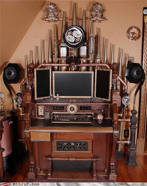 awesome,home office,Steampunk