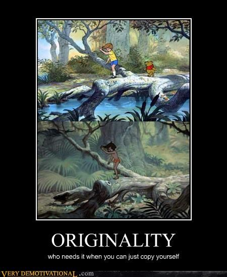 copy,disney,Jungle Book,orginality,winnie the pooh