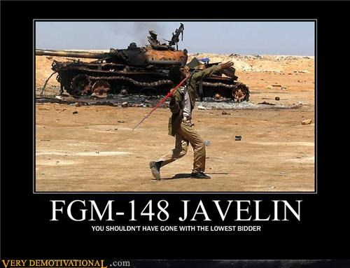 javelin,lowest bidder,missile