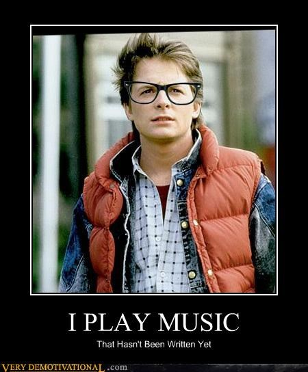 back to the future,marty mcfly,Music