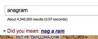 anagram,google,nag a ram