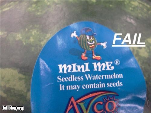 As Advertised failboat g rated produce stickers watermelon - 4699390720