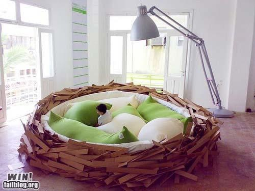 bed design nest so comfortable - 4699467008