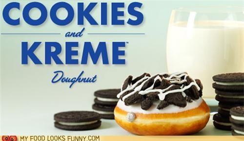 cookies,cream,donuts,filling,icing,krispie kreme,oreo